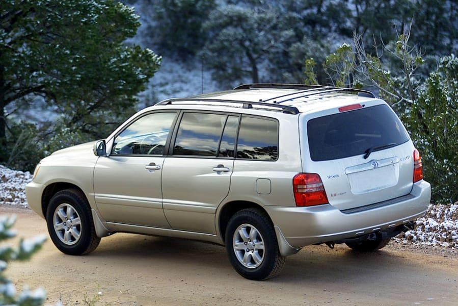Toyota Highlander I (U20) 2001 - 2003 SUV 5 door #4