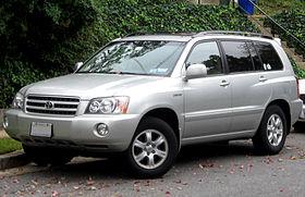Toyota Kluger I (XU20) Restyling 2003 - 2007 SUV 5 door #6