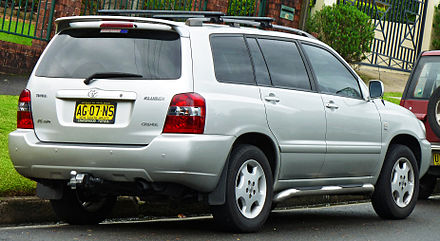 Toyota Kluger I (XU20) 2000 - 2003 SUV 5 door #1