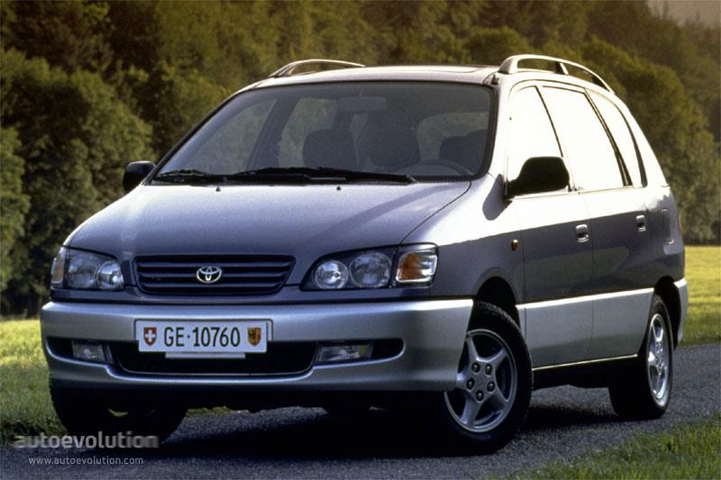 Toyota Ipsum I (M10) 1995 - 2001 Compact MPV #6
