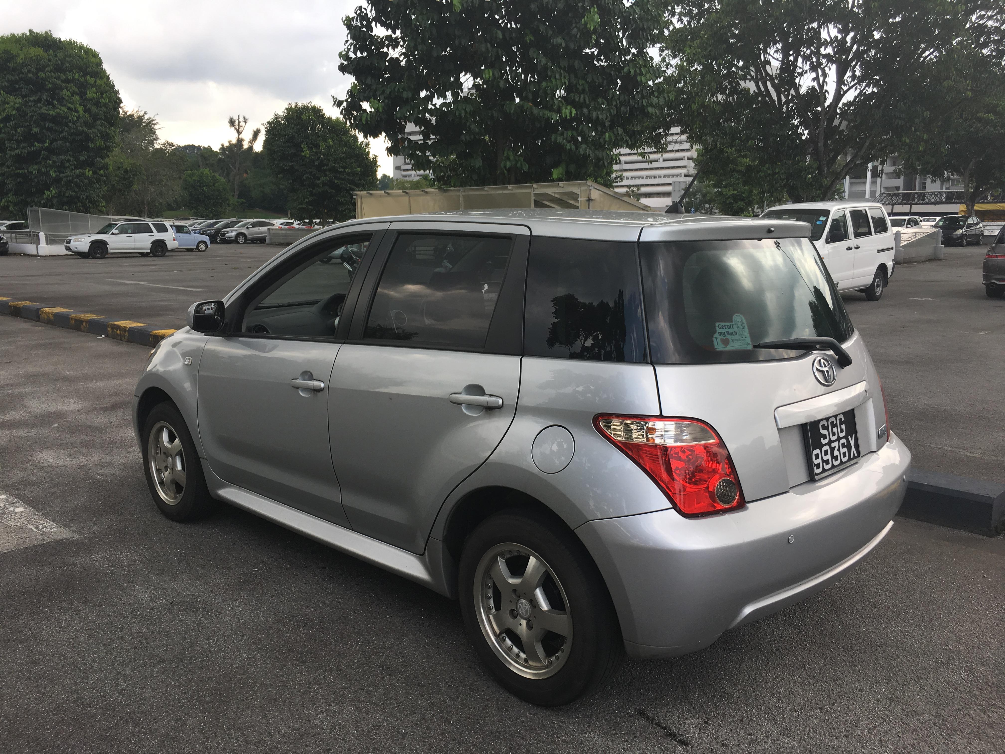 Toyota Ist I 2001 - 2007 Hatchback 5 door #3