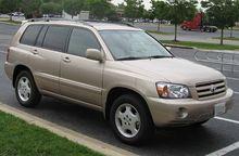 Toyota Kluger I (XU20) 2000 - 2003 SUV 5 door #5