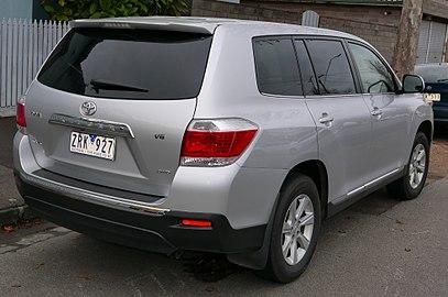 Toyota Kluger I (XU20) Restyling 2003 - 2007 SUV 5 door #5