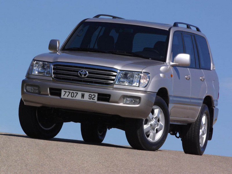 Toyota Land Cruiser 100 Series 1997 - 2002 SUV 5 door #4