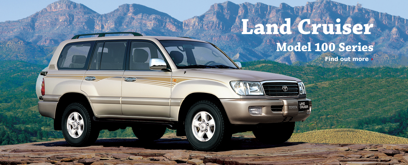 Toyota Land Cruiser 100 Series 1997 - 2002 SUV 5 door #1