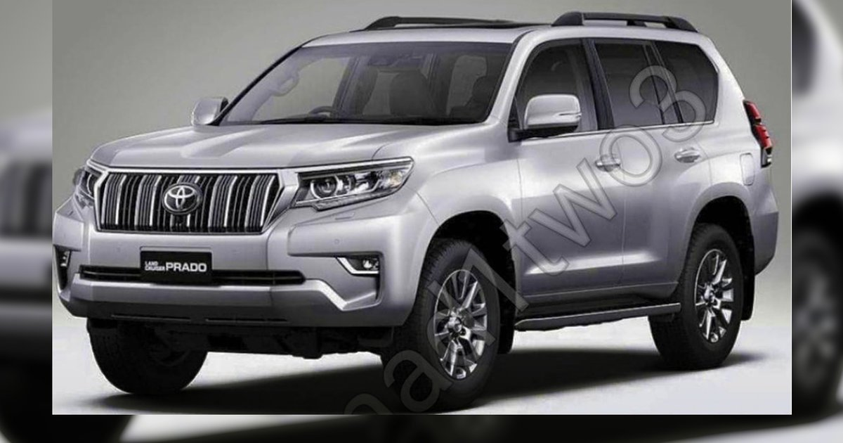 Toyota Land Cruiser Prado 150 Series Restyling 2 2017 - now SUV 5 door #8