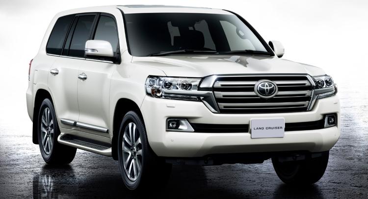 Toyota Land Cruiser 200 Series Restyling 2 2015 - now SUV 5 door #1