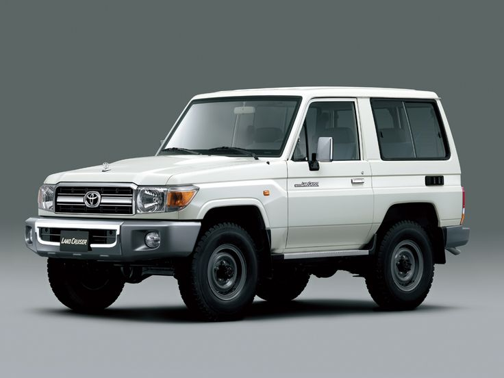 Toyota Land Cruiser 70 Series Restyling 2007 - now Pickup #2