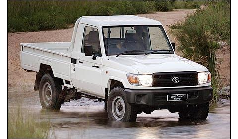 Toyota Land Cruiser 70 Series Restyling 2007 - now Pickup #4