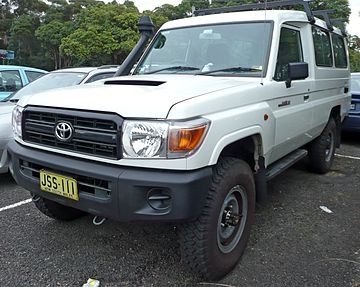 Toyota Land Cruiser 70 Series Restyling 2007 - now Pickup #1