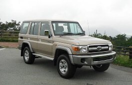 Toyota Land Cruiser 70 Series Restyling 2007 - now Pickup #7