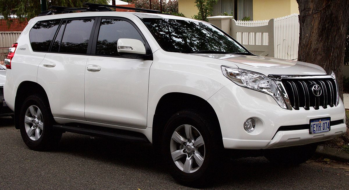 Toyota Land Cruiser Prado 150 Series 2009 - 2013 SUV 5 door #7