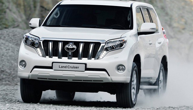 Toyota Land Cruiser Prado 150 Series Restyling 2 2017 - now SUV 5 door #7
