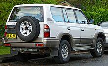 Toyota Land Cruiser Prado 90 Series 1996 - 1999 SUV 3 door #1