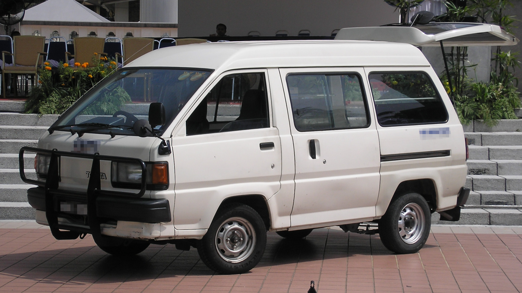 Toyota LiteAce III 1986 - 1992 Minivan #7