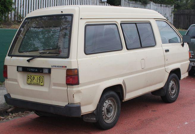 Toyota LiteAce IV 1992 - 1996 Minivan #1