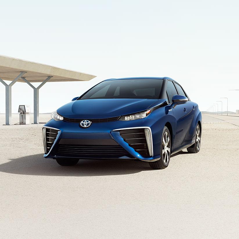 Toyota Mirai 2015 - now Sedan #6