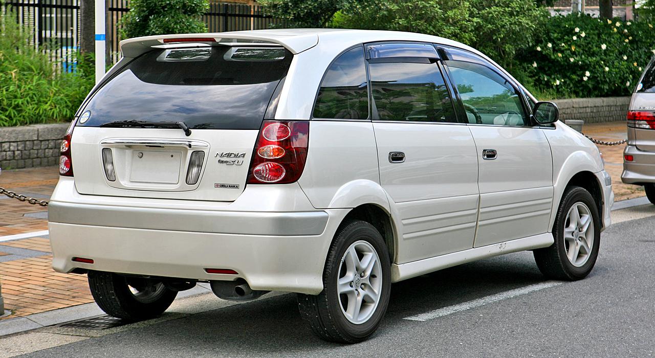 Toyota Nadia 1998 - 2003 Compact MPV #8