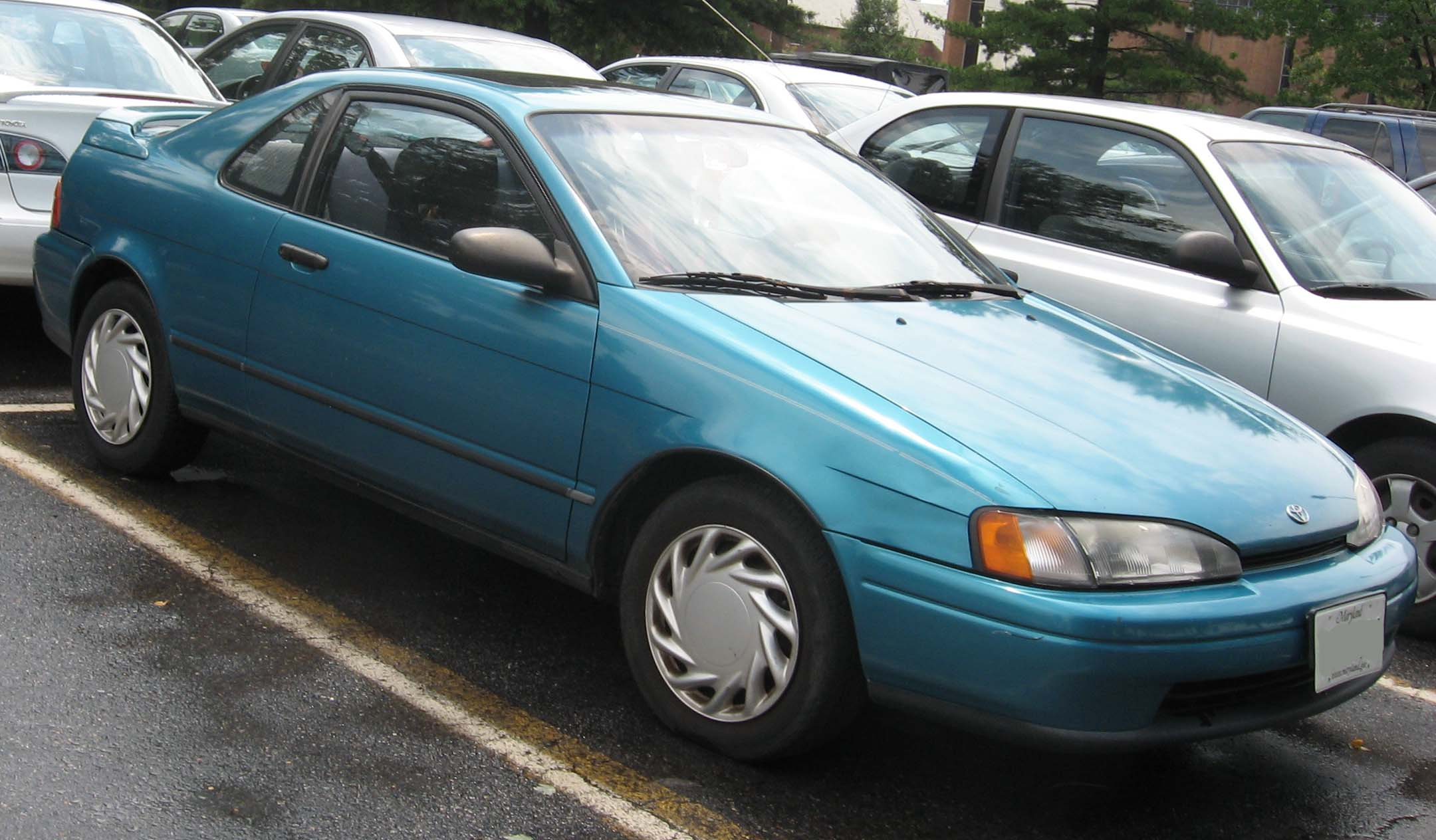 Toyota Paseo I (L40) 1991 - 1996 Coupe #5