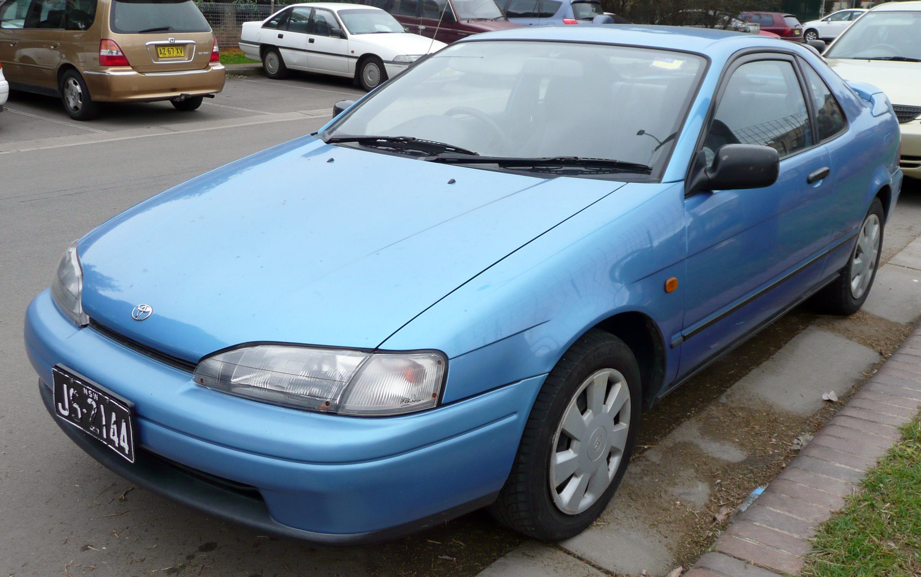 Toyota Paseo I (L40) 1991 - 1996 Coupe #2