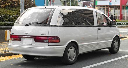 Toyota Previa I (XR10, XR20) 1990 - 2000 Minivan #2