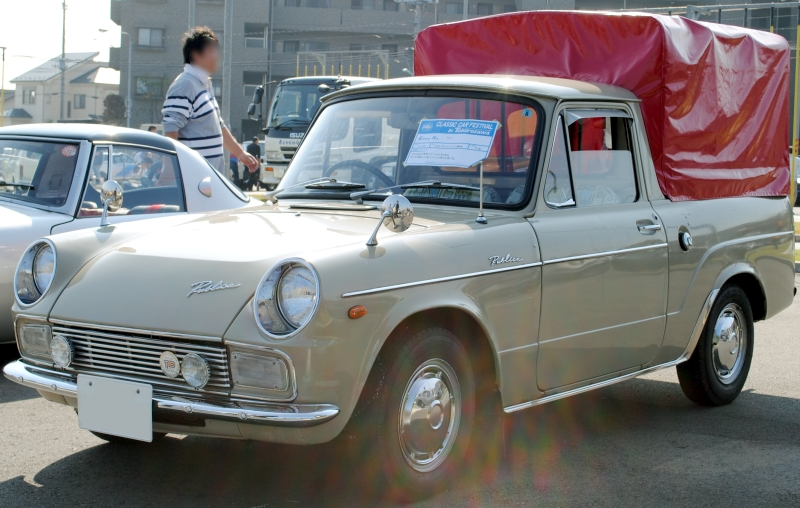 Toyota Publica III (P30) 1969 - 1978 Sedan #3