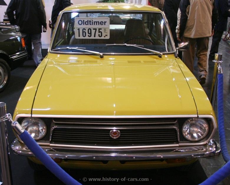 Toyota Publica III (P30) 1969 - 1978 Sedan #8