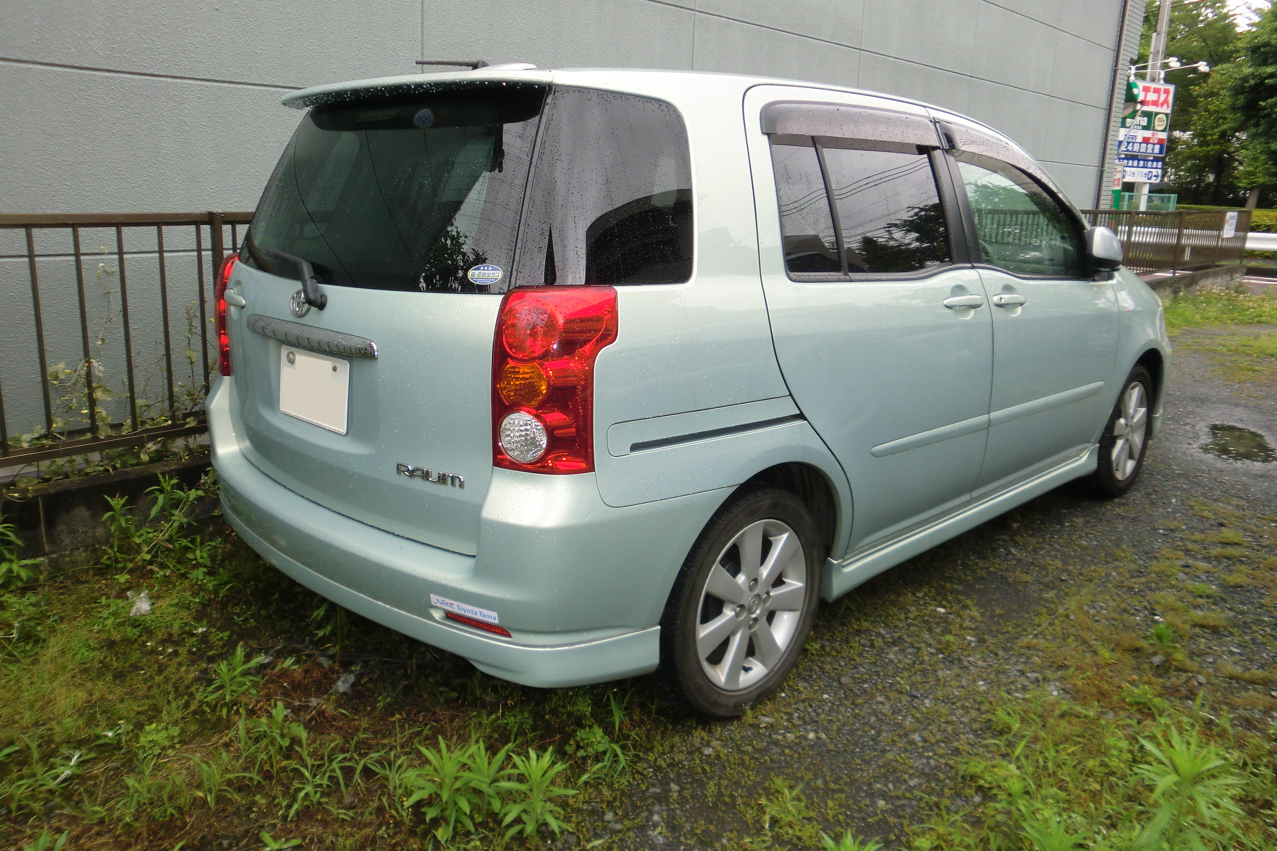 Toyota Raum I 1997 - 2003 Compact MPV #7