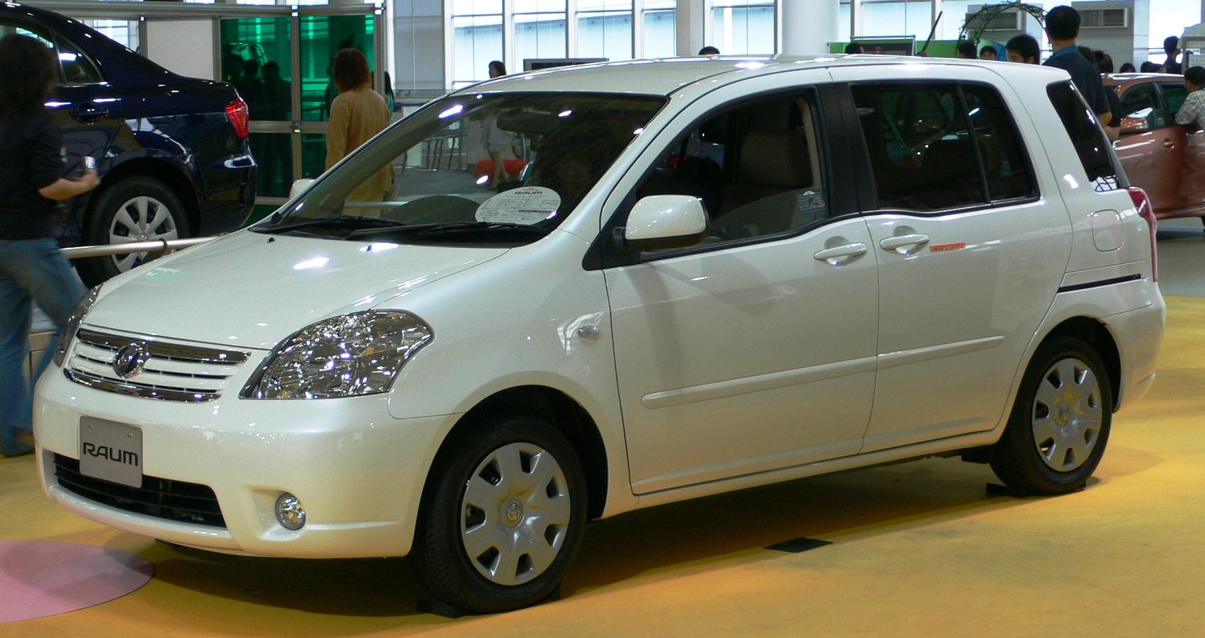 Toyota Raum I 1997 - 2003 Compact MPV #8