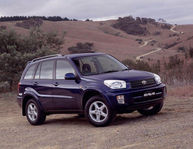 Toyota RAV 4 II (XA20) 2000 - 2003 SUV 5 door #1