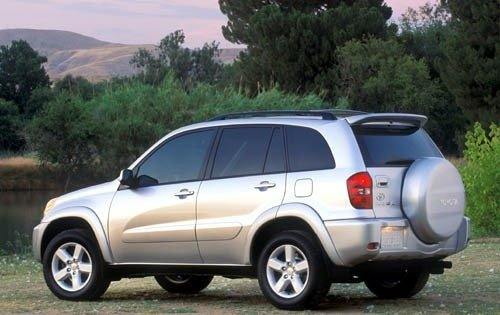 Toyota RAV 4 II (XA20) Restyling 2003 - 2005 SUV 5 door #2