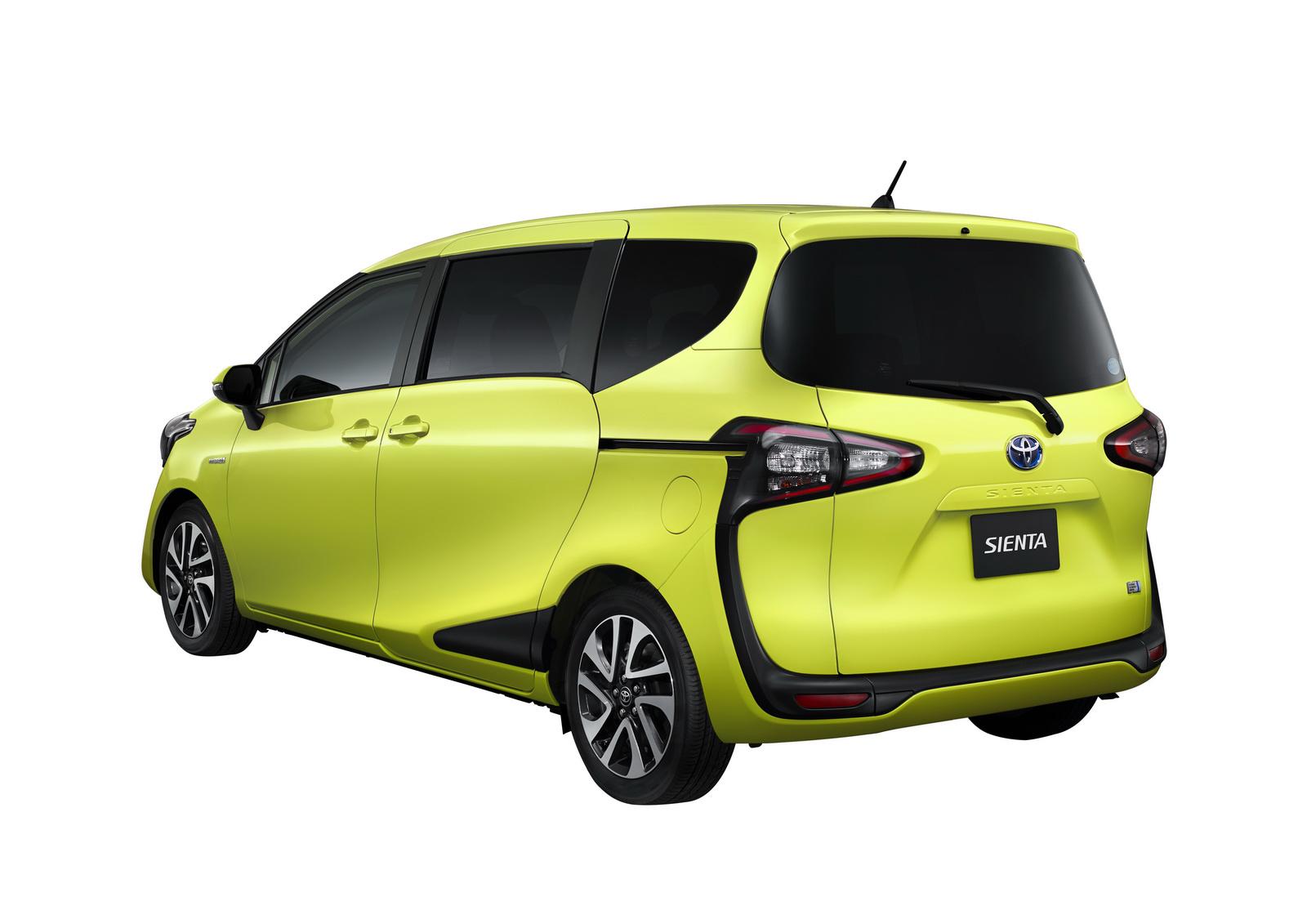 Toyota Sienta II 2015 - now Compact MPV #2