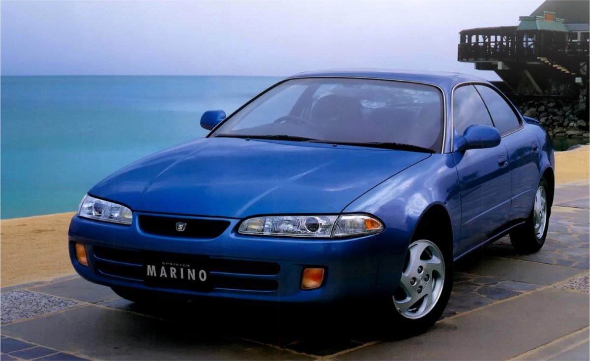 Toyota Sprinter Marino 1992 - 1998 Sedan #1