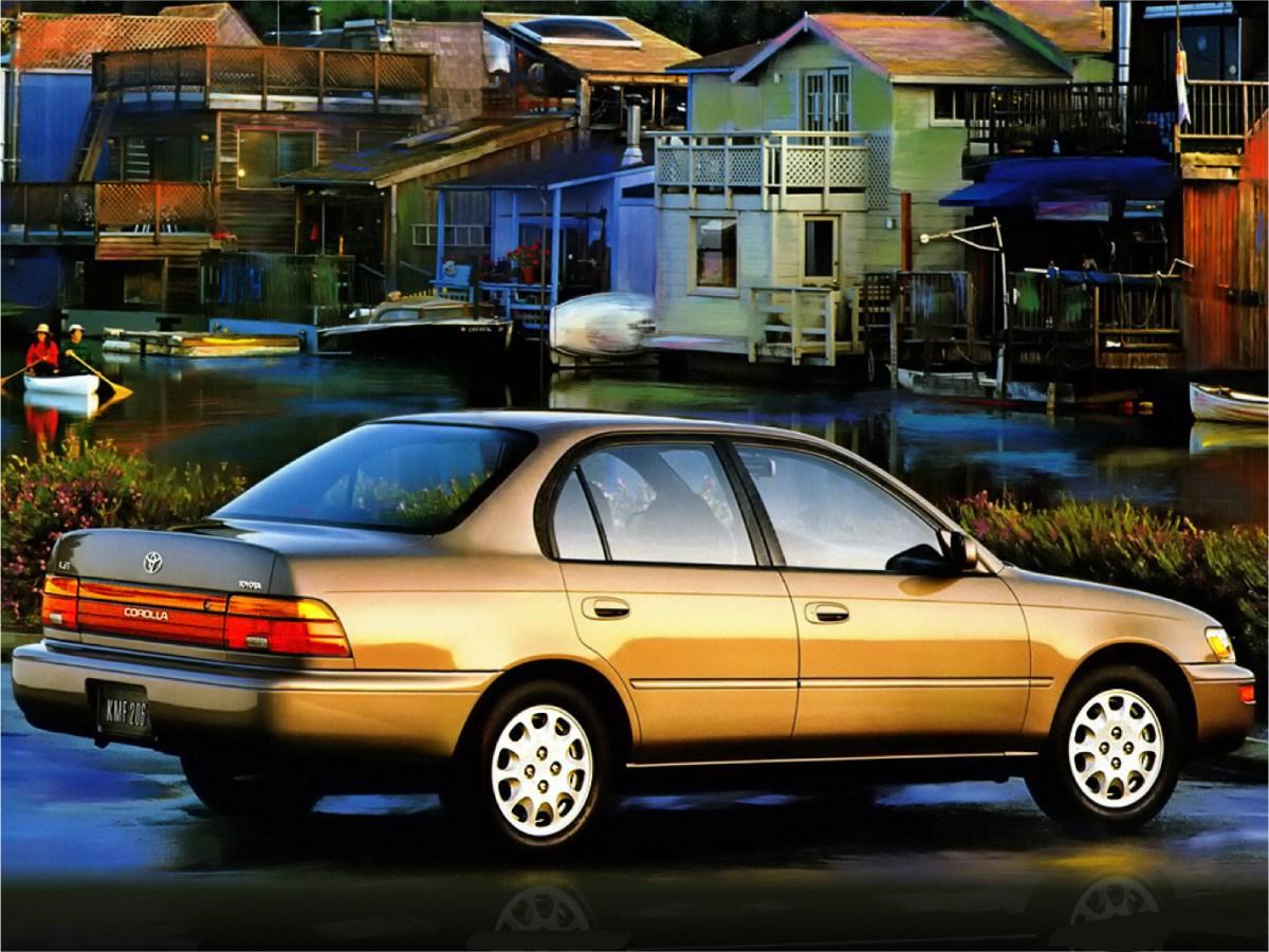 Toyota Sprinter Marino 1992 - 1998 Sedan #5