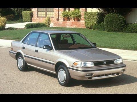 Toyota Sprinter VI (E90) 1987 - 1991 Sedan #3