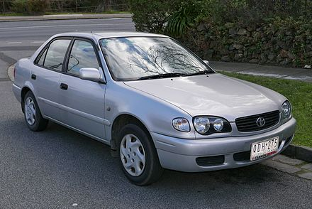 Toyota Sprinter VIII (E110) 1995 - 2000 Sedan #6