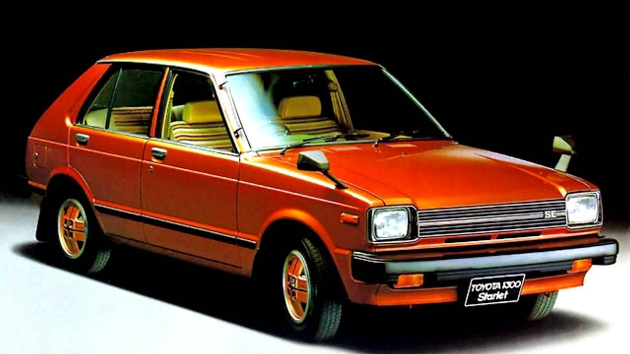 Toyota Starlet II (P60) 1978 - 1984 Hatchback 5 door