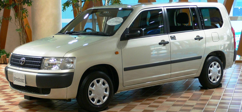 Toyota Succeed I 2002 - 2014 Station wagon 5 door #1