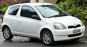 Toyota Vitz I (P10) 1999 - 2005 Hatchback 3 door