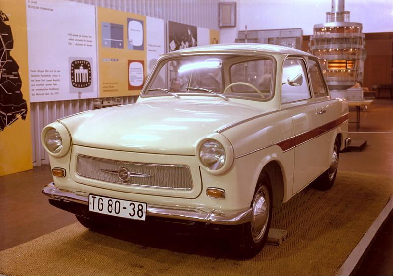 Trabant P 601 1963 - 1990 Cabriolet #8