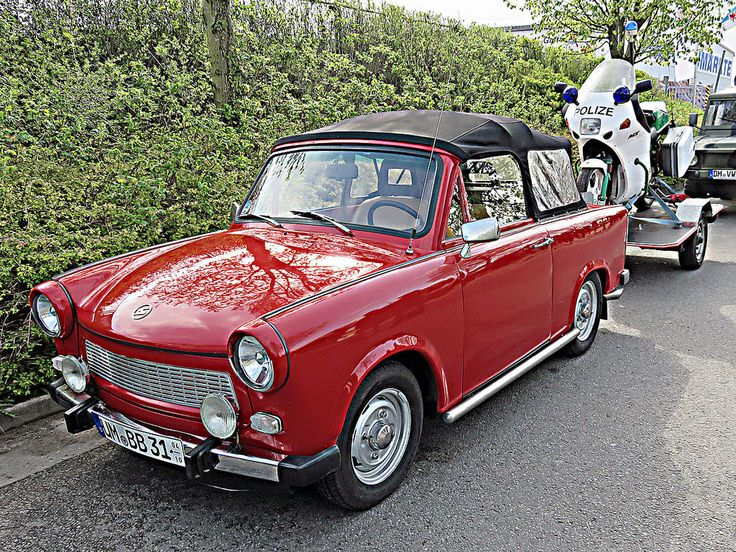 Trabant P 601 1963 - 1990 Cabriolet #5