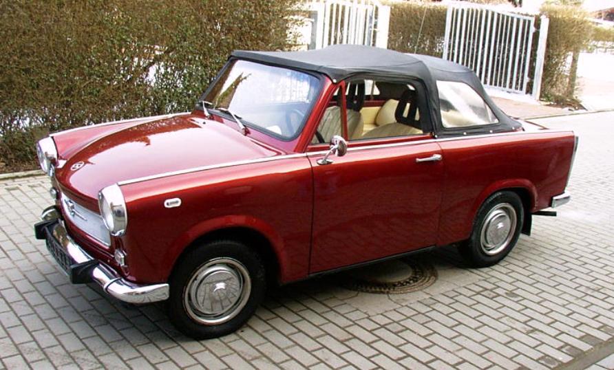Trabant P 601 1963 - 1990 Cabriolet #3