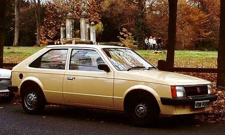 Vauxhall Astra D 1979 - 1984 Hatchback 5 door #1