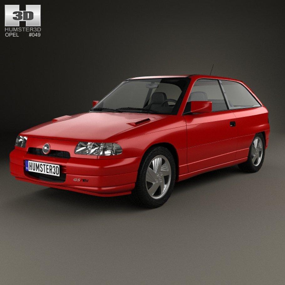 Vauxhall Astra F 1991 - 2002 Hatchback 3 door #6