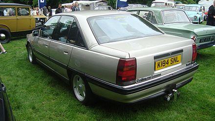 Vauxhall Carlton 1984 - 1994 Sedan #1