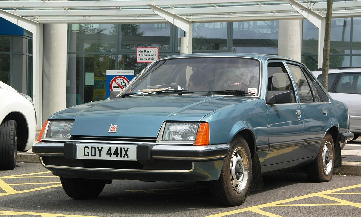Vauxhall Carlton 1984 - 1994 Sedan #7