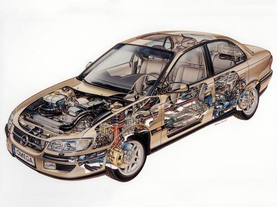 Vauxhall Omega B Restyling 1999 - 2003 Sedan #1