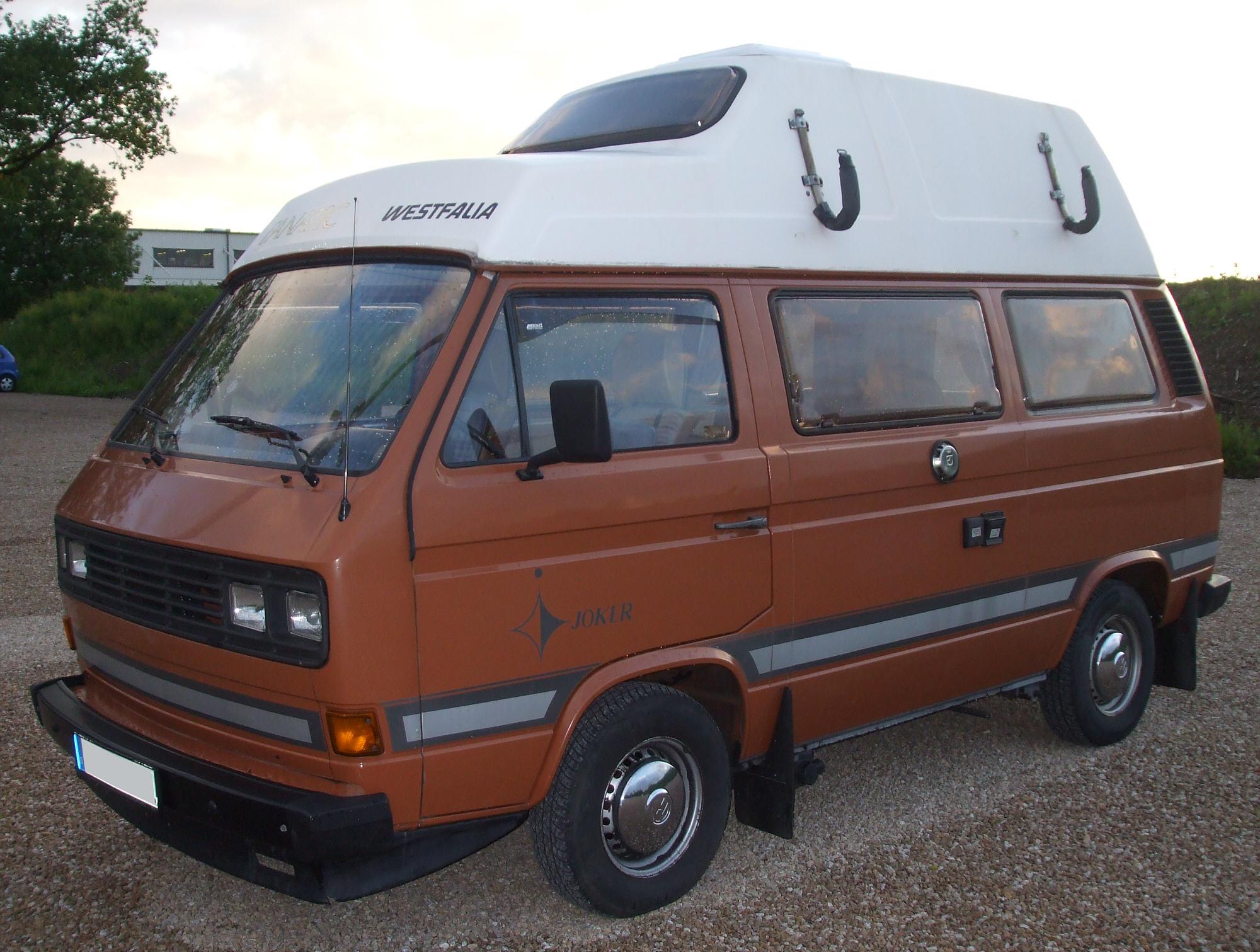 Volkswagen Multivan T3 1984 - 1992 Minivan #1