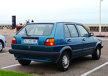 Volkswagen Golf Country 1990 - 1991 SUV 5 door #8