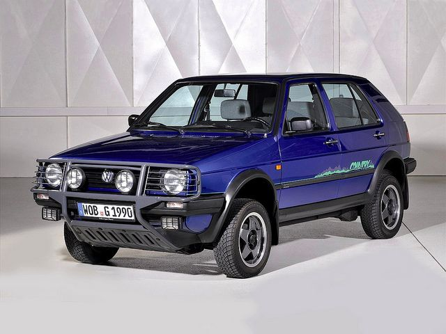 Volkswagen Golf Country 1990 - 1991 SUV 5 door #6
